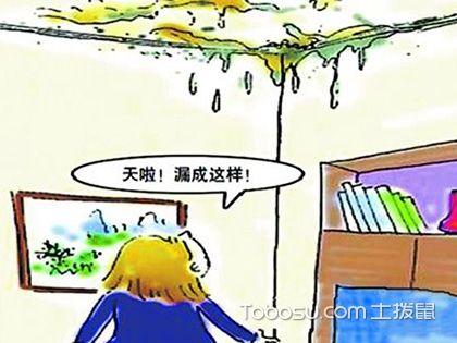 房顶漏水怎么办?房顶漏水修补多少钱?