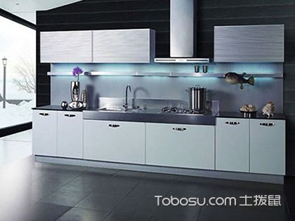 不锈钢橱柜效果图大全,金属质感更显品质生活