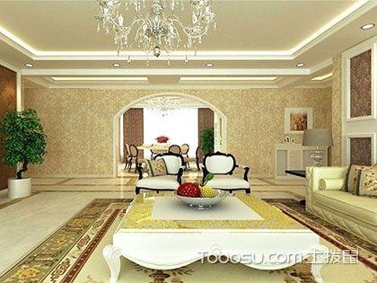 140平米简欧风格效果图,极具个性的华美家居