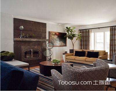 客厅植物布置需协调装修风格