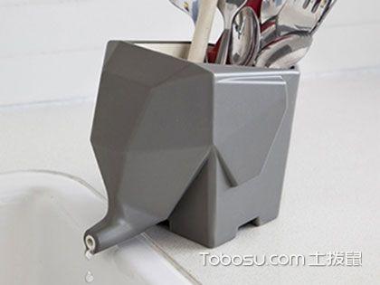 创意厨房餐具架,亮眼又人性化的厨房小工具