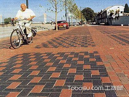 """环保路面砖效果图欣赏,脚底的最美""""风景线"""""""