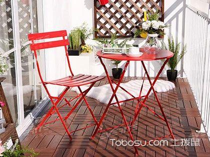阳台桌椅组合,让你爱上你的户外家