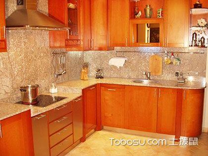 美式厨房家具色彩搭配,简洁色彩更富韵味