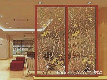 艺术玻璃屏风,真正的家庭装潢艺术家