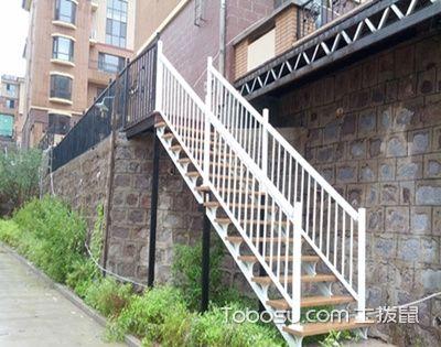 精巧的户外楼梯,让家瞬间变身安全健康的小洋房