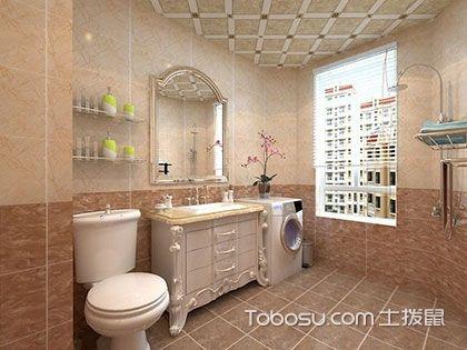 简欧风格卫生间设计要点,爱上浪漫清新的气氛