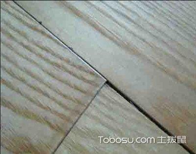 地板出现三角缝 铺贴过程出现问题