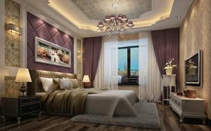 【欧式卧室】欧式卧室设计要点,欧式卧室背景墙,衣柜,装修效果图