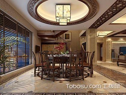 室内装修餐厅吊顶方案介绍,总有一种风格你喜欢