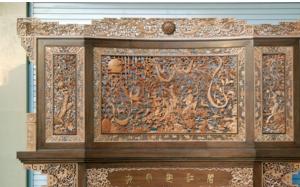 【木雕屏风】木雕屏风分类,木雕屏风制作工艺,作用,效果图