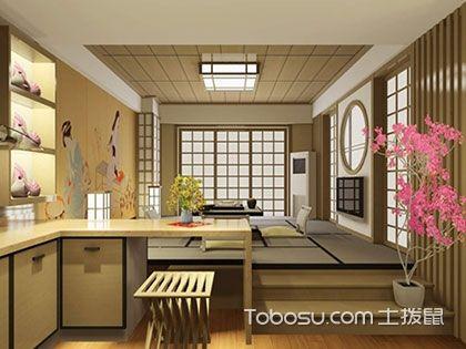 掌握日式风格装修特点,打造樱花下的素雅之家
