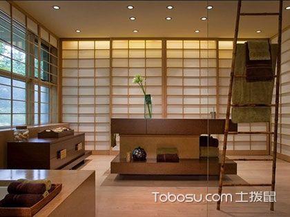 日式客厅装修效果图,简约雅致的自然韵味