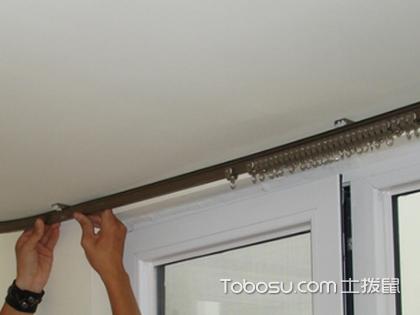怎么安装窗帘杆?保持水平是重点