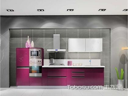 一字型橱柜效果图,你的小厨房也可以打造成这样