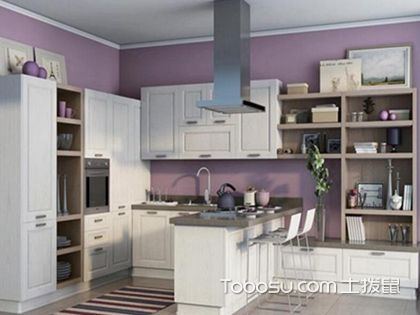 现代橱柜效果图,简朴却不失美观厨房一员