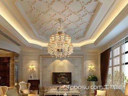 客厅吊顶效果图欣赏,打造让人仰望的装修品质