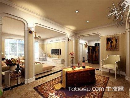 欧式风格装修设计,爱上这一室的高贵