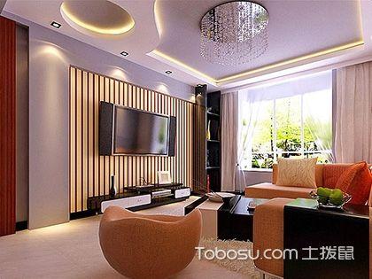 小户型客厅吊顶造型图,有限空间玩出无限花样