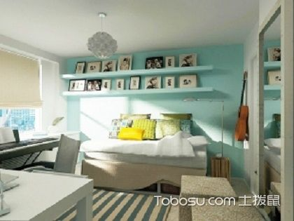 4平米小卧室设计,让你深刻体会到家的温馨!