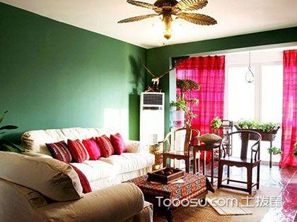 60平米客厅装修效果图,小小客厅的华丽变身