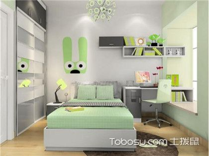 10平米儿童卧室装修案例,教你如何装修小房间