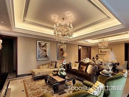 客厅吊顶图片,为你打造尊贵奢华的客厅效果