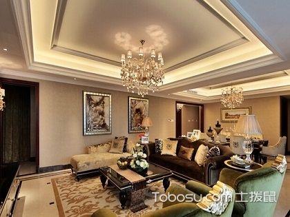 """现代客厅吊顶,让你眼前一""""亮""""的设计"""