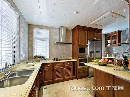 欧式厨房吊顶,家居装修的焦点