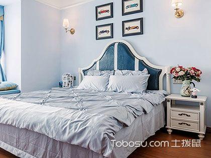 85平米两室一厅装修案例,明朗的小美式活泼感