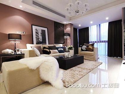 110平米装修两室一厅,不管怎么装都好看