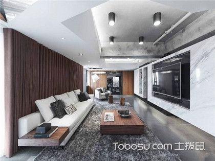70平米房子装修案例,房子虽小但大气范十足
