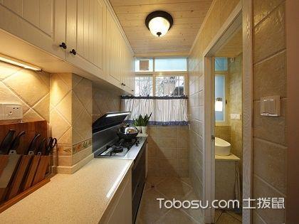小厨房吊顶效果图,看看如何才能打造格调的小厨房