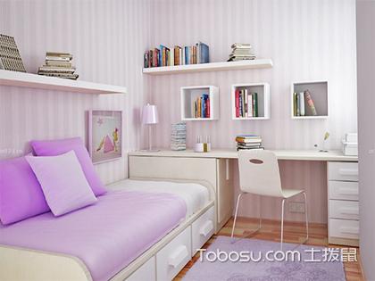 10平米的卧室怎么布置,麻雀虽小五脏俱全