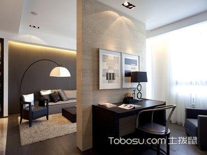 巧用客厅木板隔断墙,小户型也能变出大空间