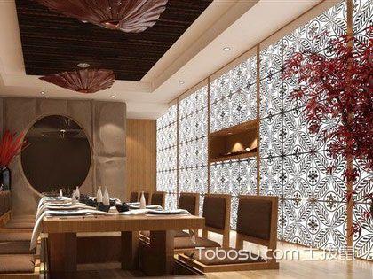 日式餐厅装修报价是多少?这些数据要先弄明白