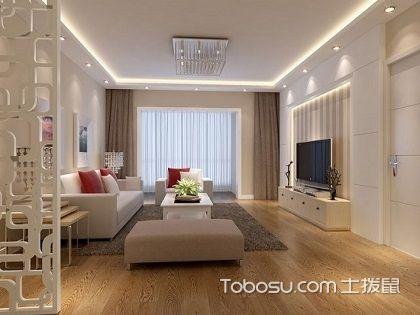 两室一厅装修样板房,这套田园风格家居你肯定喜欢