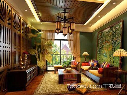 东南亚风格家居植物布置,捕获热带风情
