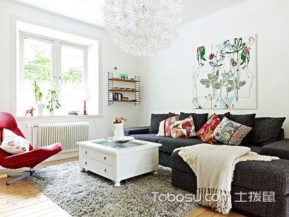 """50平米一室一厅装修图,小居室装出""""大创意"""""""