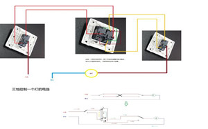 【三联开关】三联开关说明,三联开关品牌,面板,接线图