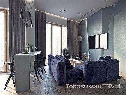 两房简单装修,打造不规则的时尚房屋