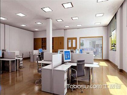 100平办公室u乐娱乐平台设计,舒适优雅的办公环境