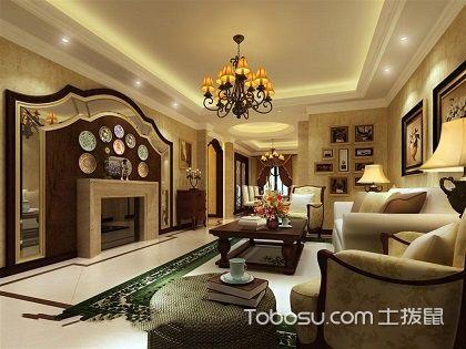 105平米三室一厅装修,简约又大气的欧式家居!