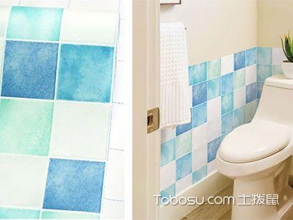卫生间瓷砖贴纸好吗?6大好处3个技巧详解