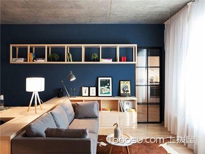 一室一厅户型装修图,单人公寓的小资情调