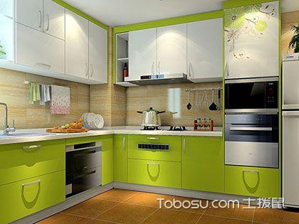 厨房橱柜颜色效果图,多种色系任君选择