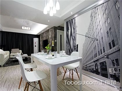 两室一厅室内装修欣赏,极简设计也有一番味道