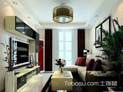 北京两室一厅装修设计,简单大气的装修有不同感觉!