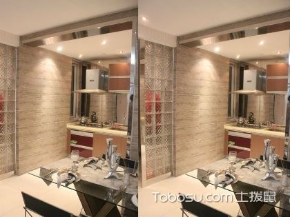 一室一厅装修样板间,这么设计让空间显大更舒适