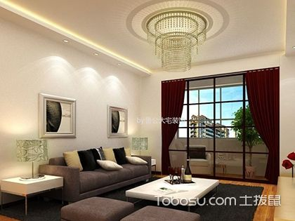 100平米房子装修预算,清新田园设计只需5万